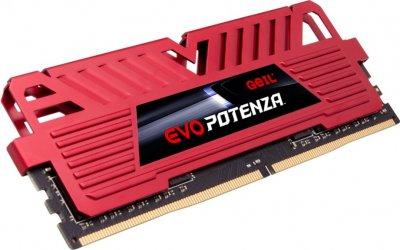 Оперативна пам'ять GeIL DDR4-3200 16384 MB PC4-25600 (Kit of 2x8192) EVO Potenza Red (GPR416GB3200C16BDC)
