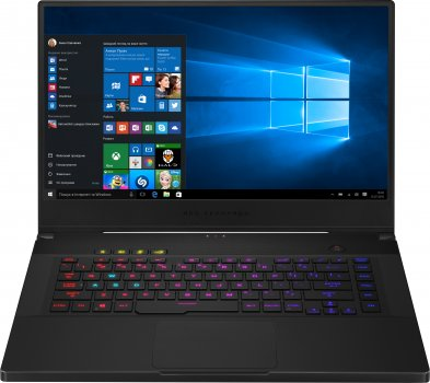 Ноутбук Asus ROG Zephyrus S15 GX502LXS-HF098T (90NR0311-M02200) Brushed Black