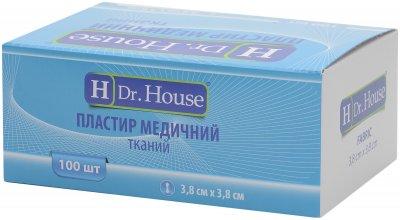 Пластырь медицинский тканевый H Dr. House 3.8 см х 3.8 см (5060384392141)