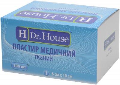 Пластырь медицинский тканевый H Dr. House 6 см х 10 см (5060384392165)