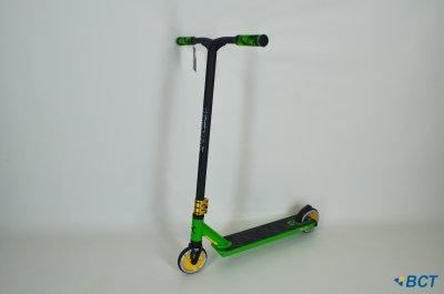 Самокат трюковий Explore Leidart Pro New зелений + пега