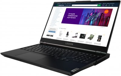 Ноутбук Lenovo Legion 5 15IMH05 (82AU007LRA) Phantom Black