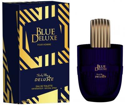 Туалетная вода для мужчин Shirley May Deluxe Blue Deluxe 100 мл (6295124033001)