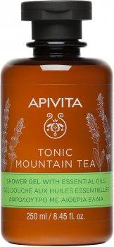 Гель для душа Apivita Tonic Mountain Tea с эфирными маслами 250 мл (5201279073213)