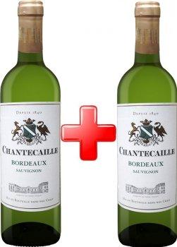 Набор GVG Chantecaille Bordeaux Blanc белое сухое 1.5 л 12% (3429671215402)