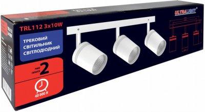 Спотовий світильник Ultralight TRL112 3x10 W білий (UL-51528)