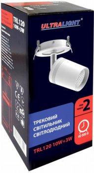 Спотовий світильник Ultralight TRL120 10 W + 3 W чорний (UL-51530)