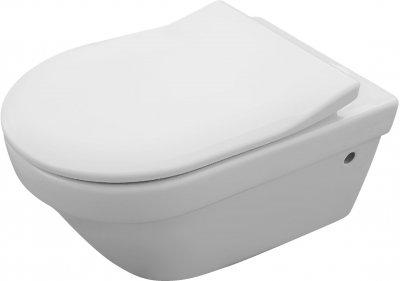 Унітаз підвісний VILLEROY&BOCH Architectura DirectFlush 4694R001 із сидінням SlimSeat Soft Close 9M70S101
