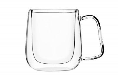 Набор чашек Ardesto с двойными стенками 250 мл 2 шт (AR2625GHP)
