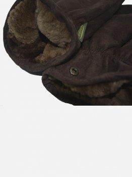 Рукавицы с мехом бобра Acropolis ЧРЗ-3 M-L Коричневые (ROZ6400026427)