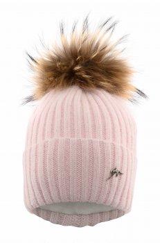 Зимняя шапка Elf-kids Айова 48-50 см Розовая (ROZ6400026459)