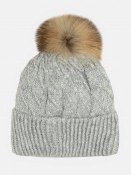 Зимняя шапка Elf-kids Монтана 50-52 см Серая (ROZ6400026513)