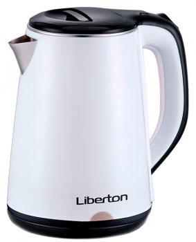 Электрочайник Liberton LEK-1802 White