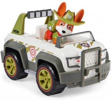 Спасательный автомобиль Spin Master Paw Patrol Щенячий патруль Базовый автомобиль с водителем Трекер (SM16775/7106)