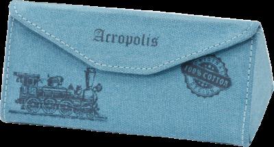 Футляр для очков Аcropolis Ф-80/60 Голубой (ROZ6400027000)