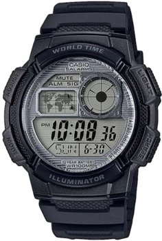 Чоловічий годинник CASIO AE-1000W-7AVEF