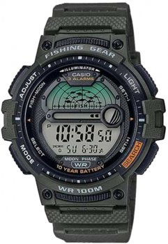 Чоловічий годинник CASIO WS-1200H-3AVEF