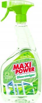 Упаковка засобів для миття скла Maxi Power Gruner Tee 740 мл х 2 шт. (4823098410775/2000064265917)