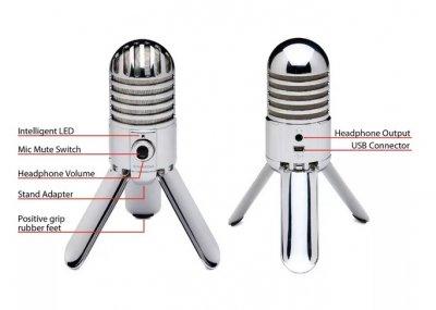 Микрофон профессиональный Samson Meteor