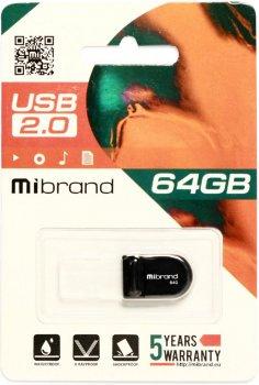 Mibrand Scorpio 64GB USB 2.0 Black (MI2.0/SC64M3B)