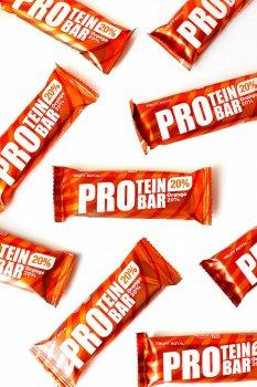 """Батончик протеиновый """"PROtein"""" Truff Royal глазированный с апельсином. Упаковка 9 шт"""