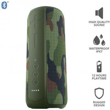 Акустична система Trust Caro Max Powerful Bluetooth Speaker Camo (23960)