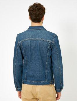 Джинсова куртка Koton 0YAM53034LD-740 Indigo