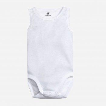 Боди-майка H&M 1467406 Белая