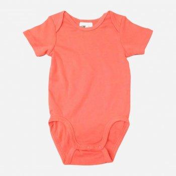 Боди-футболка H&M 472064 Коралловая