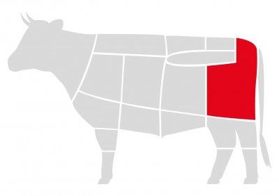 Бифштексы для бургеров Мястория из выдержанной говядины Абердин, 750г
