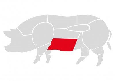"""Бекон из свинины """"Мястория"""" 300 г"""