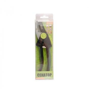 Секатор садовый MASTERTOOL GM 200 мм, ручки ABS+TPR, лезвие Mn65+ТЕФЛОН, наковальня 14-6124