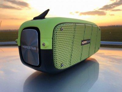 Портативна Bluetooth колонка Hopestar A20 Салатовий