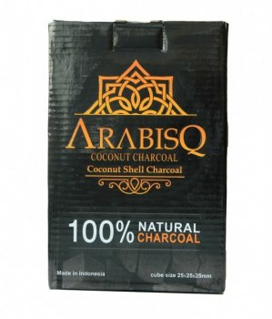 Кокосове вугілля до кальяну ARABISQ box 1kg
