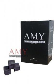 Кокосове вугілля для кальяну Amy Gold 1кг