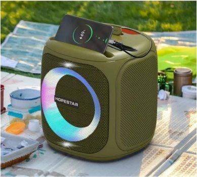 Колонка Bluetooth HOPESTAR Party 100 green