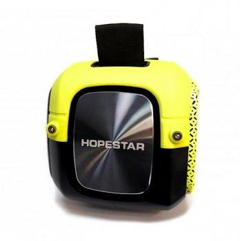 Портативна колонка Bluetooth Hopestar A20 Yellow