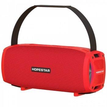 Портативна Bluetooth колонка Hopestar H24 Pro Red