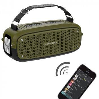 Портативная Bluetooth колонка Hopestar A21 green