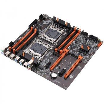 Материнська плата KLLISRE ZX-DU99D4 ( s2011-3 / C612 / PCI-e x16 )