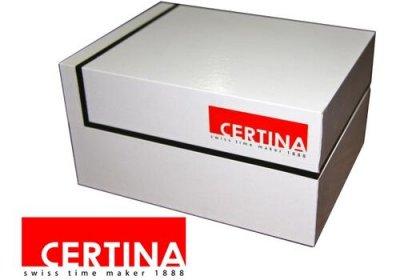 Чоловічий наручний годинник Certina C034.210.36.127.00