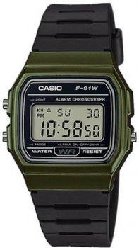 Чоловічі наручні годинники Casio F-91WM-3AEF