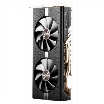 Відеокарта Sapphire Radeon RX 570 NITRO+ 4096MB (11266-98-90G FR) Factory Recertified