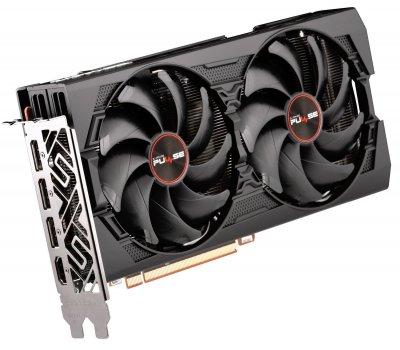 Видеокарта Sapphire Radeon RX 5500 XT PULSE 8192MB (11295-97-90G FR) Factory Recertified