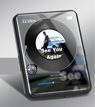 MP3 плеер JNN X6 Max Bluetooth Hi-Fi 4Gb с внешним динамиком