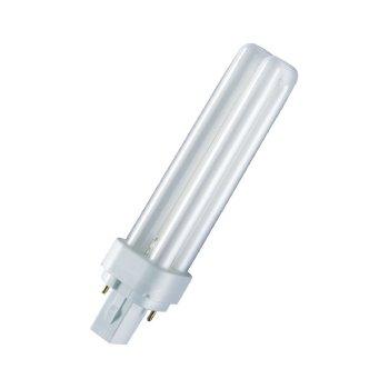 Лампа люмінесцентна Osram DULUX D 26W/840 G24d-2 (4050300012049)
