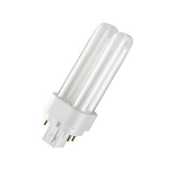 Лампа люмінесцентна Osram DULUX D/E 26W/830 G24d-2 (4050300327235)
