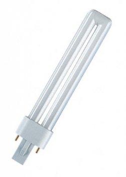 Лампа люмінесцентна Osram DULUX S 9W/840 G23 (4050300010588)