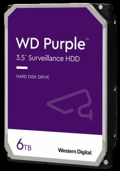 """Жорсткий диск 3.5 """" 6Tb WD WD62PURZ Purple"""
