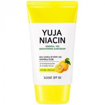 Осветляющий солнцезащитный крем SOME BY MI Yuja Niacin Mineral Brightening Suncream 50 мл